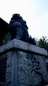 春宮の狛犬