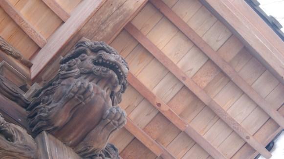 深大寺の狛犬