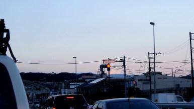 マジで!多摩から富士山!