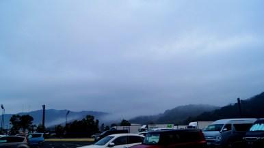 4時過ぎ、沼津で雨に遭遇