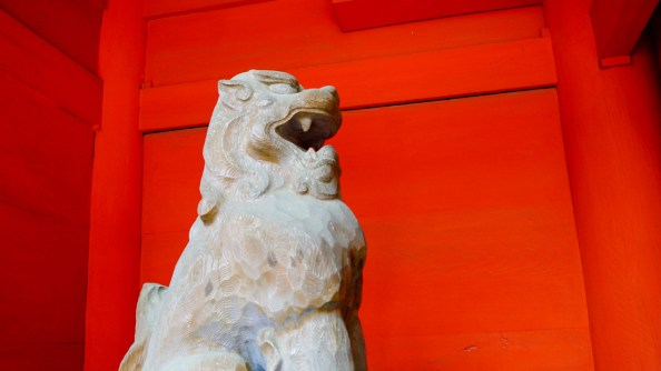 香取神宮の狛