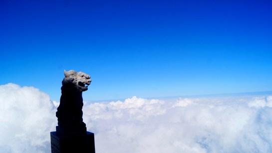 富士山の狛