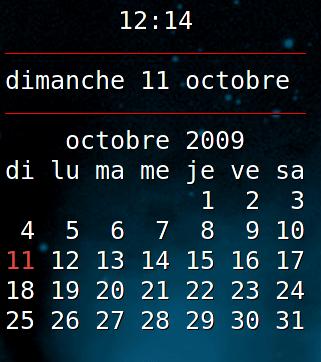 conky-calendar