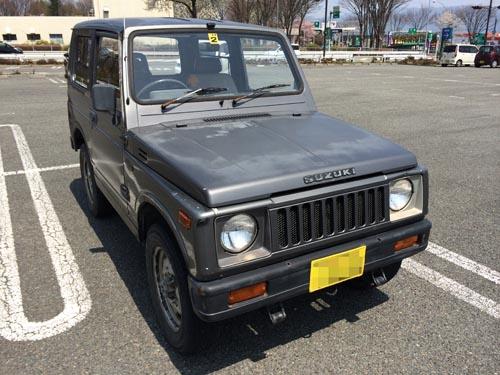 140419ジムニー代車
