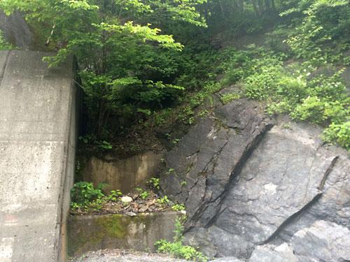 140628横川川堰堤横高巻き