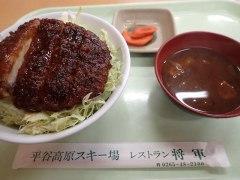 151022平谷湖ソースカツ丼
