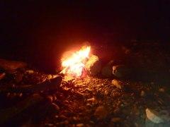 160808三峰川焚き火