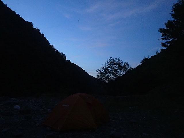 160808三峰川夜のとばり