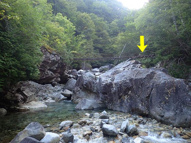160902阿寺川ボロ吊り橋01