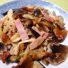 簡単美味いキノコ料理|シモフリシメジと茄子の味噌炒め