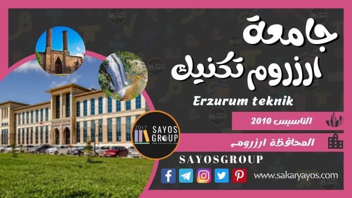 جامعة ارزوروم تكنيك | Erzurum Teknik Üniversitesi
