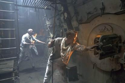 Im Maschinenraum der Kriegsschiffes SMS König