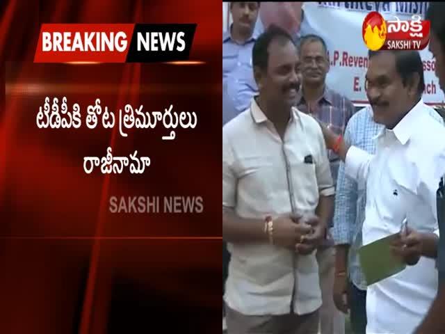 Thota Trimurthulu Bids Farewell To TeluguDesam