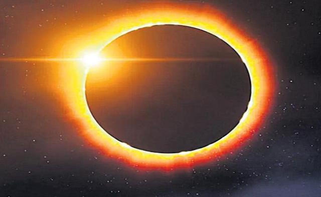 Annular solar eclipse on June 21 - Sakshi