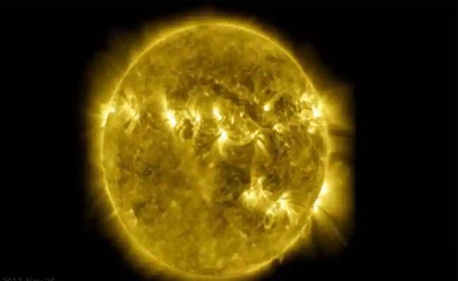 NASA Goddard Space Flight Center Shared Video Of Sun - Sakshi