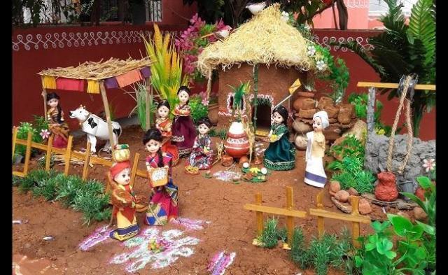 Sankranti Celebrations At Village - Sakshi