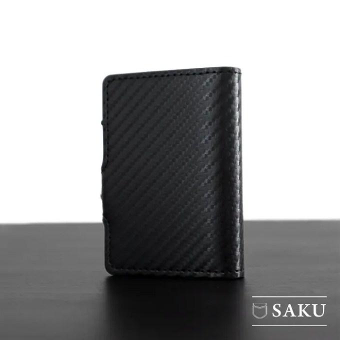 Saku Official - Dompet Kartu Saku Carbon Black