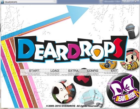 Deardrops Title Screen Image JPG