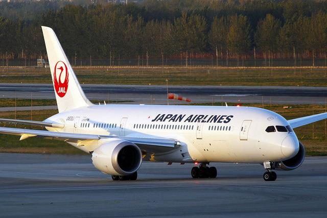 plane travel in japan
