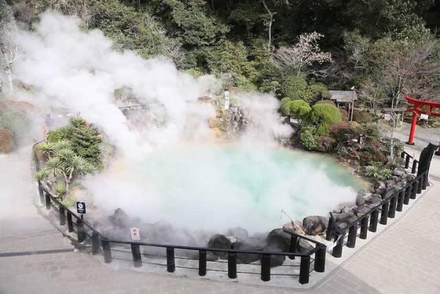 8. Beppu Onsen (Oita Prefecture)