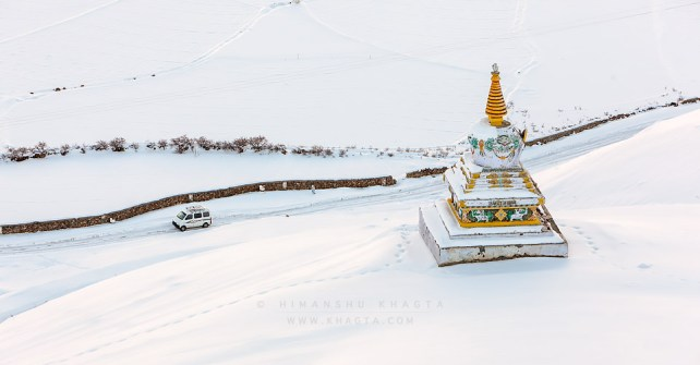 Driving to Spiti in Winters?