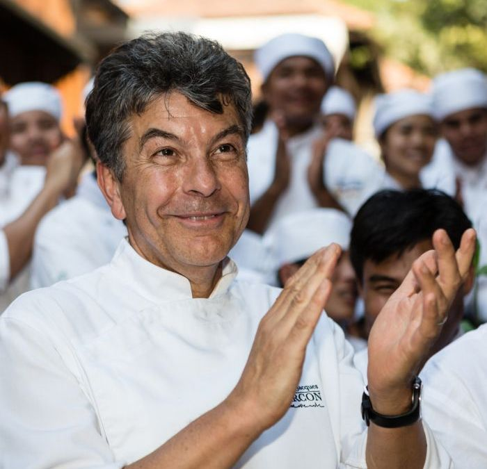 Régis Marcon, 3-star Michelin Chef and member of the APLC board