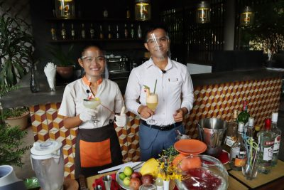 Recettes de cocktails/mocktail : Bonjour Cambodge, Frozen Margarita et Sala Baï Orange Love