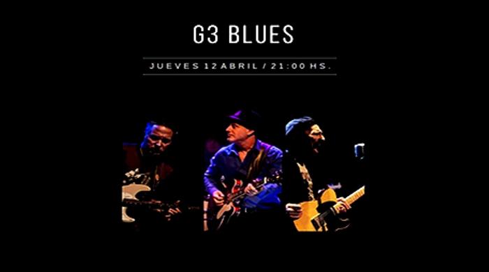 G3 y una noche de Blues