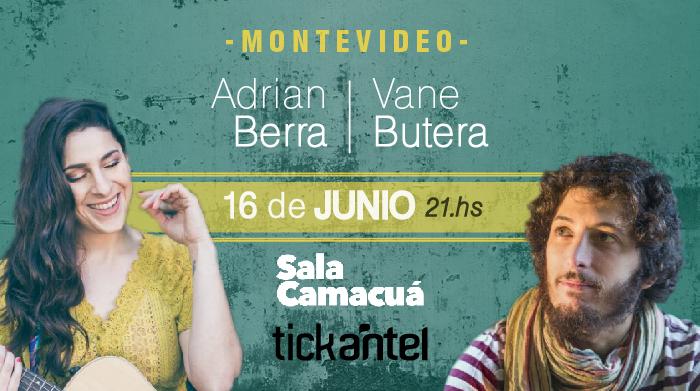 Juntos y separados: Adrián Berra y Vane Butera