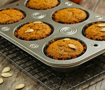 Pumpkin Trail Mix Muffins - Overwhelmed with requests to make a pumpkin recipe! So here you go….'tis the season for everything pumpkin. #recipe