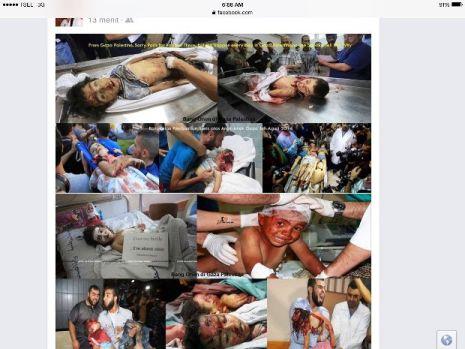 Anak-anak Palestina di Gaza dan wilayah lainnya dibantai Zionis Yahudi, tapi dunia bungkam-jpeg.image
