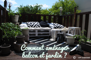 comment am nager balcon jardin et fen tres. Black Bedroom Furniture Sets. Home Design Ideas