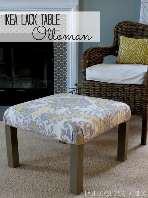 ikea lack table ottoman