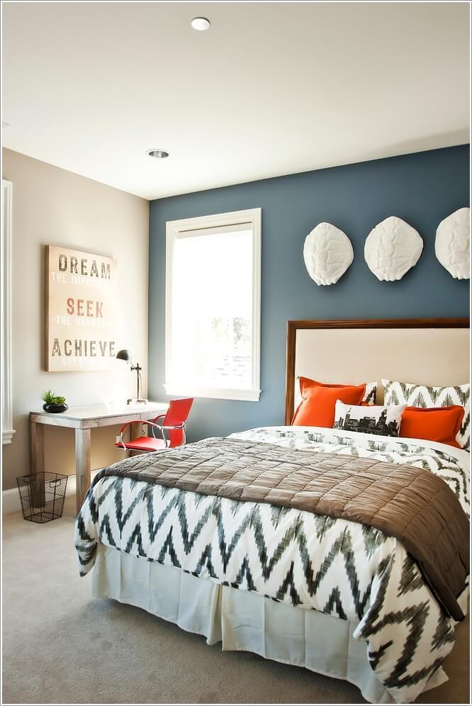 Mur tete de lit sylwia liana pinterest with mur tete de lit good dlicieux peindre tete de lit - Fixation tete de lit au mur ...