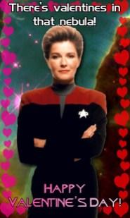 Voyager Valentine - Kathryn Janeway