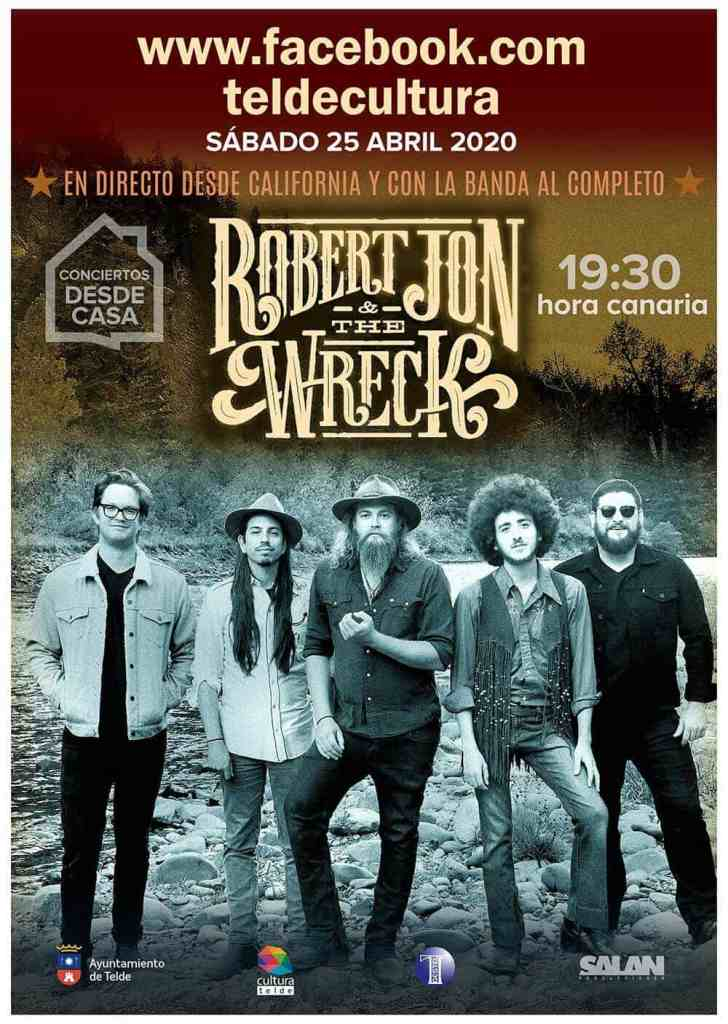 Concierto en directo online Robert Jon and The Wreck