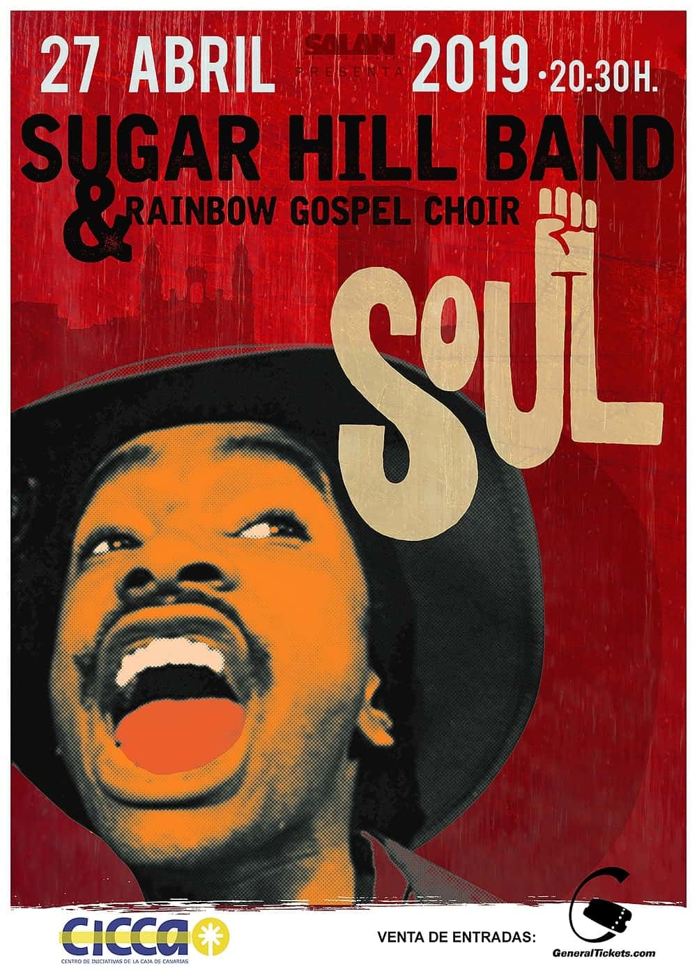 Cartel banda de música Sugar Hill Band