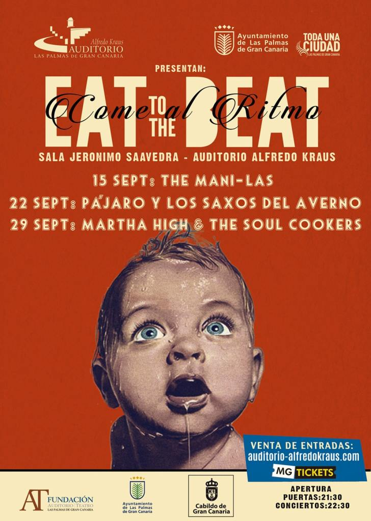 Tercera Edición Eat To The Beat en Gran Canaria