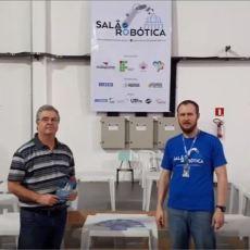 Faculdade SOCIESC de Curitiba participando do III Salão de Robótica