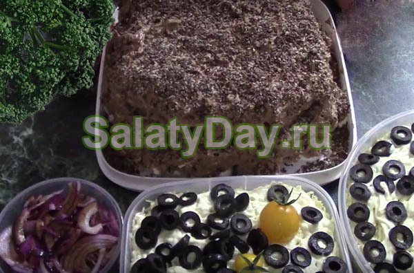 Салат Мужской каприз - пикантный и питательный, для ...
