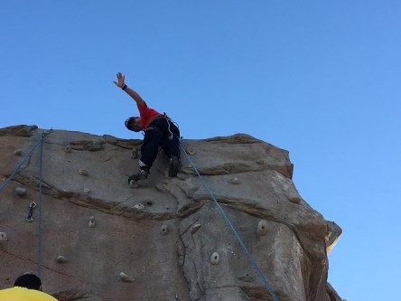 Escalando en Rivas (3)