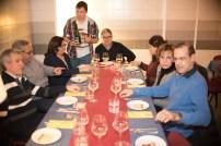 Cena de gala con Familias