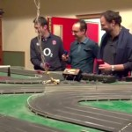 Scalextric y basket, no defraudan