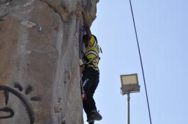Cuarto y Quinto Escalando en el monolito de Rivas (26)