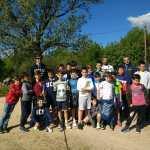 La primera acampada de los de 4º