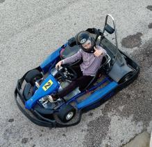 Montan de Kart con 1 ESO 21.40