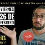 Sesión Online con José Martín Aguado, gran experto en series, música y RRSS