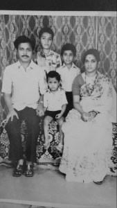 Saleel Pulekar Family Picture