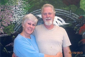 Diane Downs and her brother James Frederickson