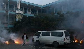 The Israeli attack on a UN compound and school in Gaza.
